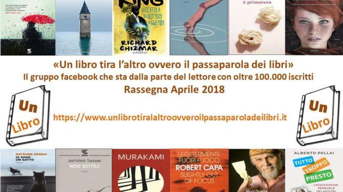 rassegna mensile apr 2018 Recensioni UnLibro