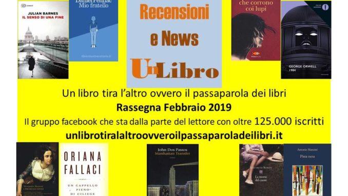 libri più letti febbraio 2019 Recensioni e News Un Libro