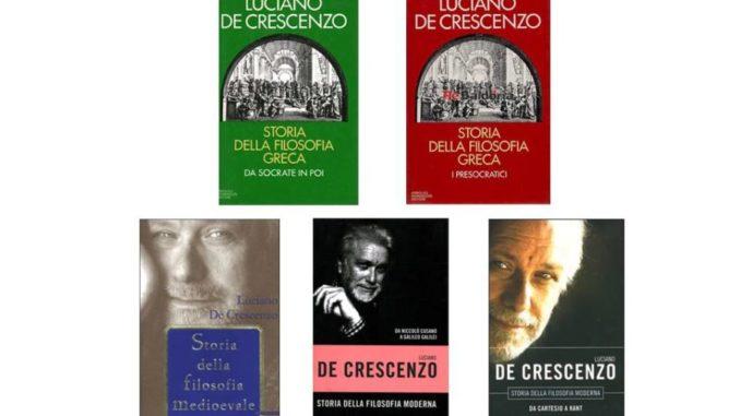 Storia della filosofia Luciano De Crescenzo Recensioni Libri