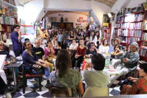 Alla Libreria Giufà di Roma con Rodrigo Elgueta, illustratore de Gli anni di Allende