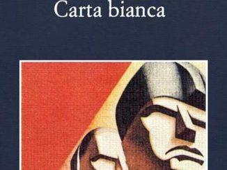 Carta Bianca Carlo Lucarelli recensioni Libri e News