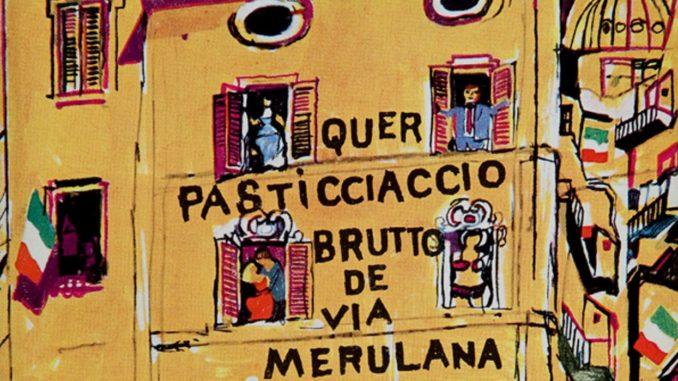 QUER PASTICCIACCIO BRUTTO DE VIA MERULANA Carlo Emilio Gadda
