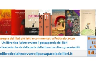 libri più letti a febbraio 2020
