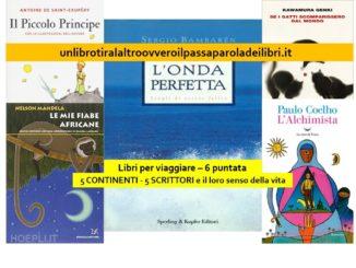 5 CONTINENTI 5 SCRITTORI E IL LORO SENSO DELLA VITA recensioni Libri e News