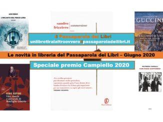 Novità in libreria Giugno 2020 Speciale Premio Campiello