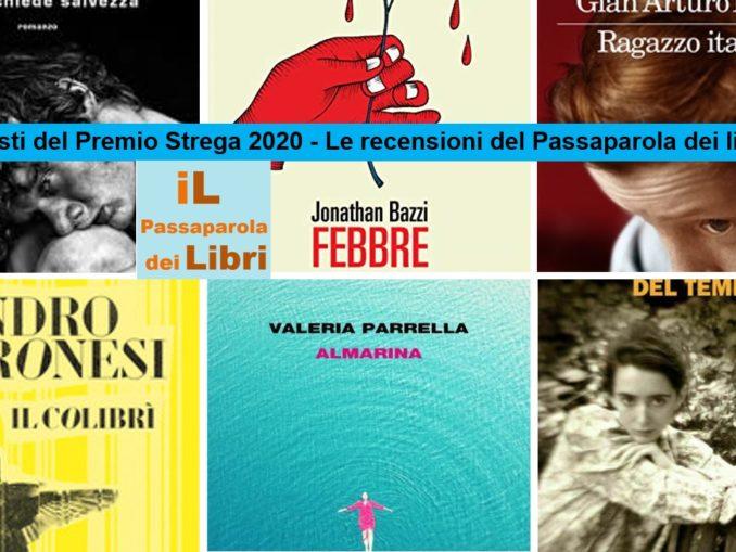i 6 finalisti del premio Strega 2020 - iL Passaparola dei Libri