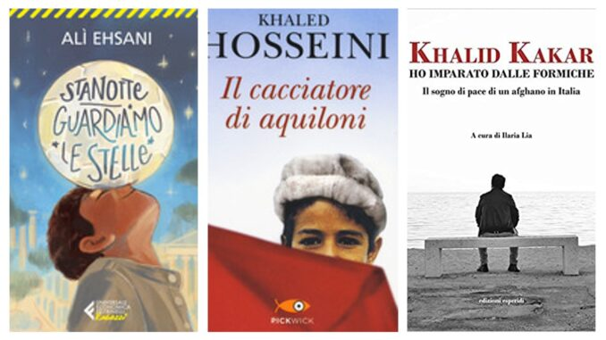 IL CACCIATORE DI AQUILONI Khaled Hosseini HO IMPARATO DALLE FORMICHE Khalid Kakar STANOTTE GUARDIAMO LE STELLE Alì Ehsani